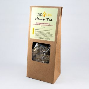 CBD Tea - Hemp & Lemongrass, Rosehip, Sea Buckthorn, Orange peel, Echinacea, Liquorice