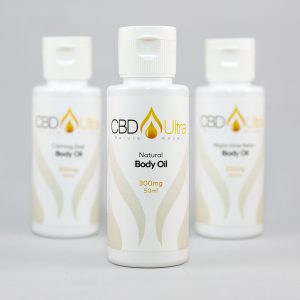 CBD Ultra Body Massage Oil