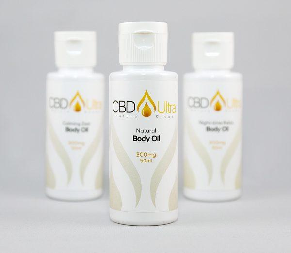CBD Ultra Body Massage Oil