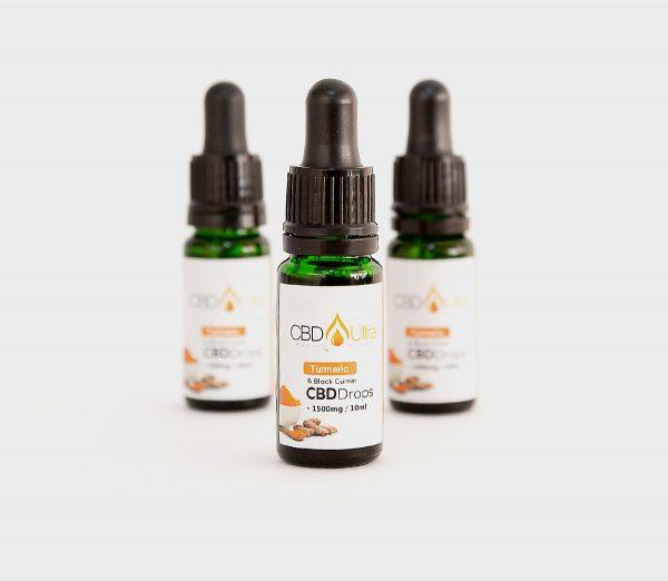 Organic Turmeric and Black Cumin Oil Drops